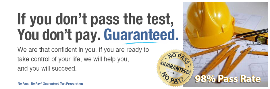 No Pass - No Pay® Guaranteed Test Preparation